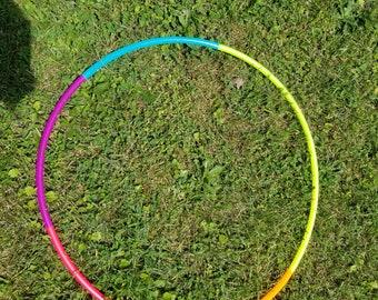 Neon Rainbow Hoop