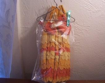 Vintage Crepe Paper Doll Dress