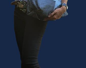 Denim Bag,Denim Shoulder Bag, Jeans Bag, Shoulder bag, Denim Tote, Tote,Handmade Denim Bag,Denim handbag, Denim Purse,Borsa jeans,Tote bag