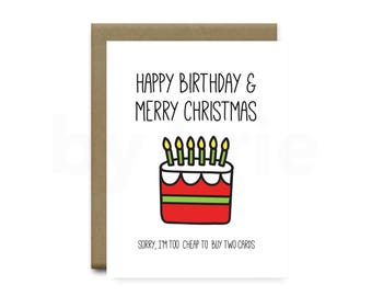 Christmas greeting card christmas cards handmade all i want christmas birthday card christmas cake christmas greeting card christmas cards handmade funny bookmarktalkfo Images
