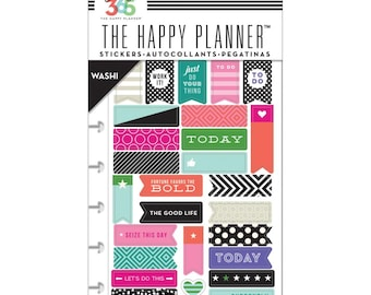 Bold - Washi Create 365 Planner Stickers 5 Sheets/Pkg