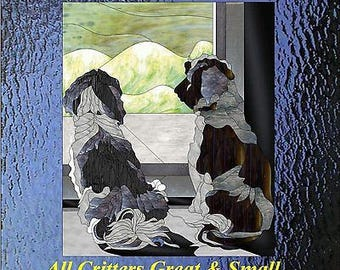 All Critters Great and Small Paned Expressions Pattern Book On CD Animals + Bonus