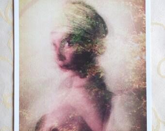 """Golden dream"" art poster"