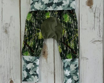 Miniloones Grow With Me Pants Camouflage