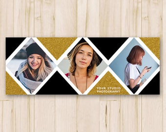 Facebook Cover Photo - Photography Facebook Timeline Cover Photo, Facebook Cover Template, Social Media - Photoshop PSD *INSTANT DOWNLOAD*