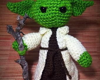 Yoda Amigurumi  Star Wars Inspired Crochet Yoda