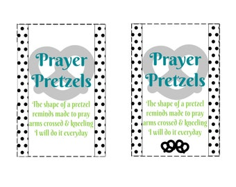 Prayer Lesson Handout