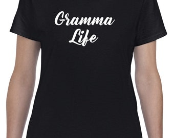 Gramma Life-New Gramma Shirt Gift for Gramma