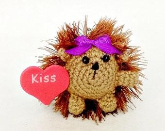 Soft toy keychain etsy crochet hedgehog birthday gift soft baby shower toy easter gift hedgehog key chain hedgehog pendant for keys hedgehog negle Gallery
