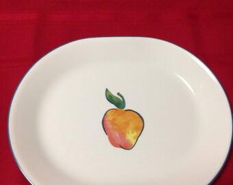 Corelle Corning Ware Fruit Pattern Serving Platter