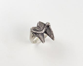 Coyote Tooth Ring | Statement Ring | One of A Kind