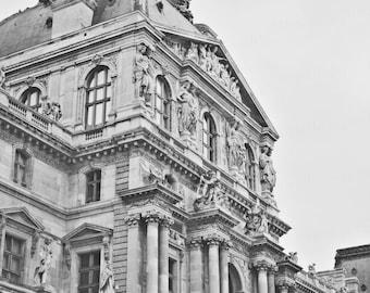 Paris France Architecture, Paris Travel Photography, Black & White Photography, Paris Travel Photography, 8x10 Photo Print