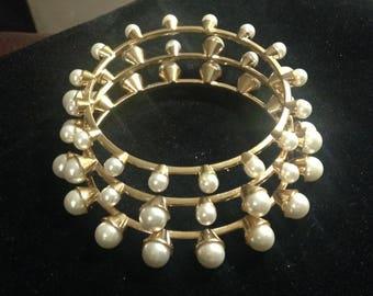 Make a Statement Bracelet/Bangles Set of 3 in Gold