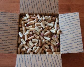 100 Used Natural Wine Corks