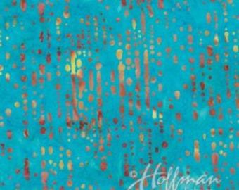 Hoffman Bali Batik Water Droplets Seasalt