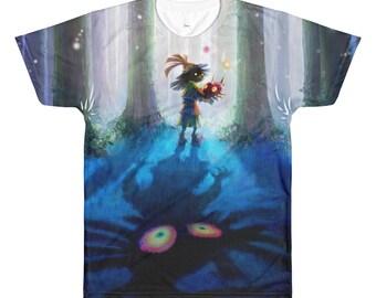 The Legend of Zelda: Majora's Mask Skull Kid Sublimation T-shirt