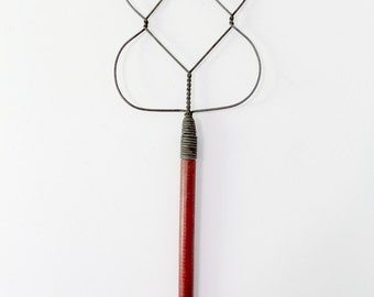 antique rug beater, The Batwing Beater, farmhouse decor