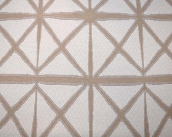 Neutral Trellis Fabric
