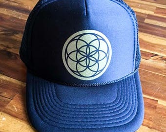 Seed of Life Trucker Hat