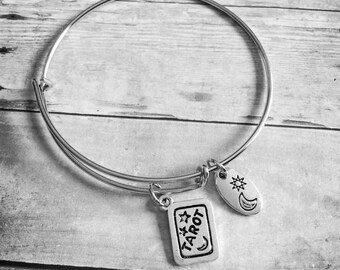 Tarot  Charm Bracelet