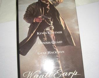 Wyatt Earp Two VHSs Movie