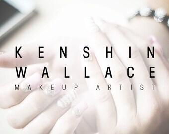 Makeup Artist Logo, Makeup Logo, Makeup Blog Logo, Cosmetician Logo, Cosmetic Artist Logo, Beauty Logo. Boutique Logo, Modern Minimalist KW1