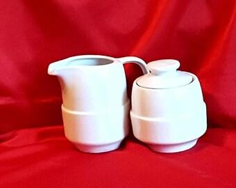 Vintage cream and sugar bowl  set