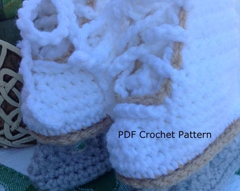 Instant Download - Figure Skates Crochet Pattern