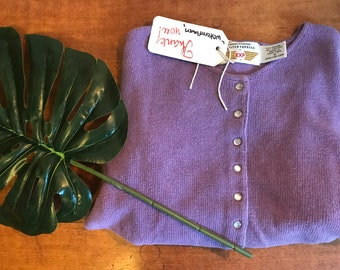 Vintage limited purple sweater