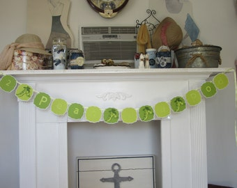 2 Peas in a Pod Baby Shower Banner Twins Shower Banner