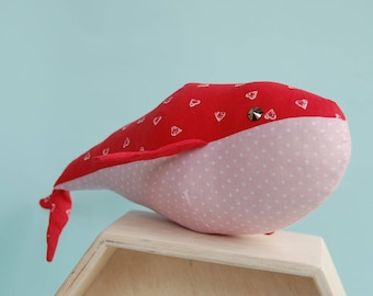 Whale Toy, Stuffed Whale, Whale Stuffed Animal, Whale Soft toy, Whale Plush Toy