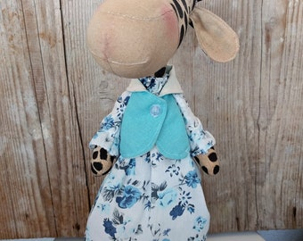Stuffed giraffe , Giraffe toy, Organic stuffed giraffe, Organic stuffed animals, Waldorf giraffe toy, Handmade giraffe toy, Plush giraffe ,