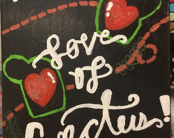 For the Love of Cactus Wall Art
