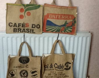 Coffe Bean Sack Shopping bags
