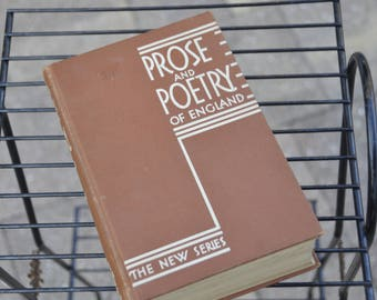 Prose And Poetry Of England, L.W. Singer Co.