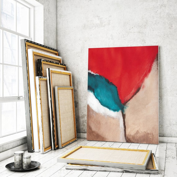 Große Leinwand Kunst abstrakte Kunst abstrakte Malerei