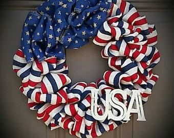 Lil Miss Americana USA Wreath