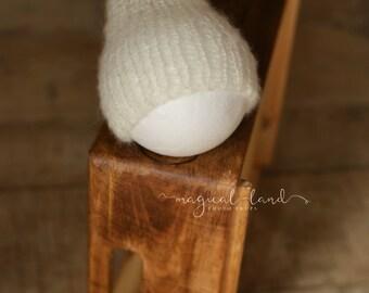 Newborn baby beanie hat photo prop