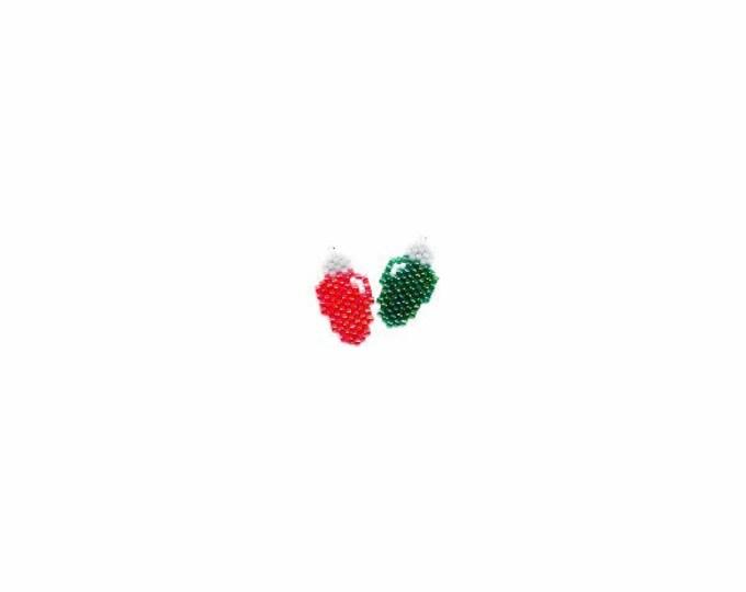 Christmas Lights Brick Stitch Bead PATTERN   DIGITAL DOWNLOAD