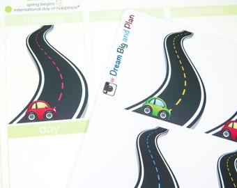 Road Trip Planner Stickers! DBP98