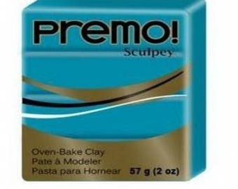 Clay PREMO Sculpey Turquoise 57g