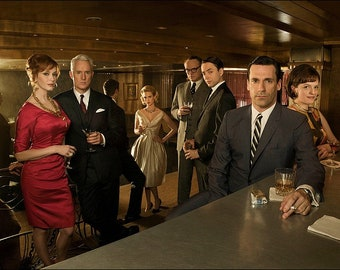 Mad Men 11x14 Photo Poster #1417