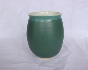 Smalle Matte Turquoise Cup