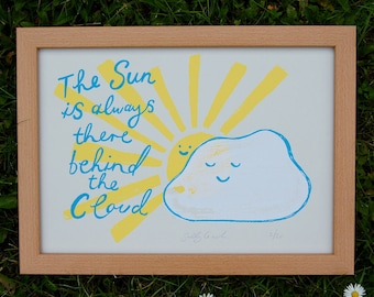 Sunshine Screenprint