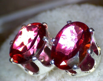 Beautiful Pink Mystic Topaz Earrings