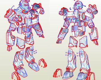EVA Foam Fallout 4 T-60 power armor suit  DIY  blueprints