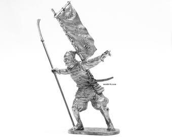 tin 75mm Japanese samurai