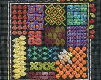 Embroidery PDF, Needle Point Kit, Needle Art PDF, Diy Embroidery, Thread Pattern, Needle Art Download, Thread Design PDF