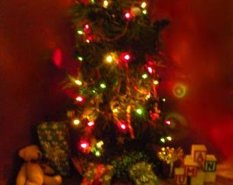 Barbie lighted Christmas Tree