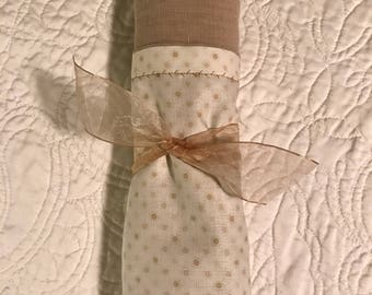 Neutral Nursery Crib Baby Blanket